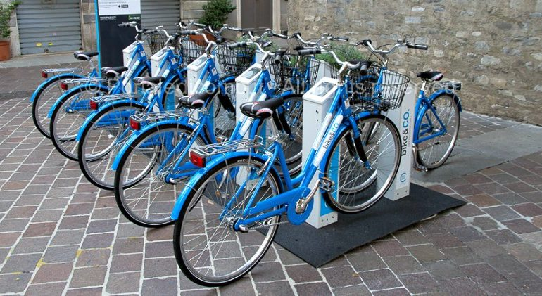 Bike sharing Como